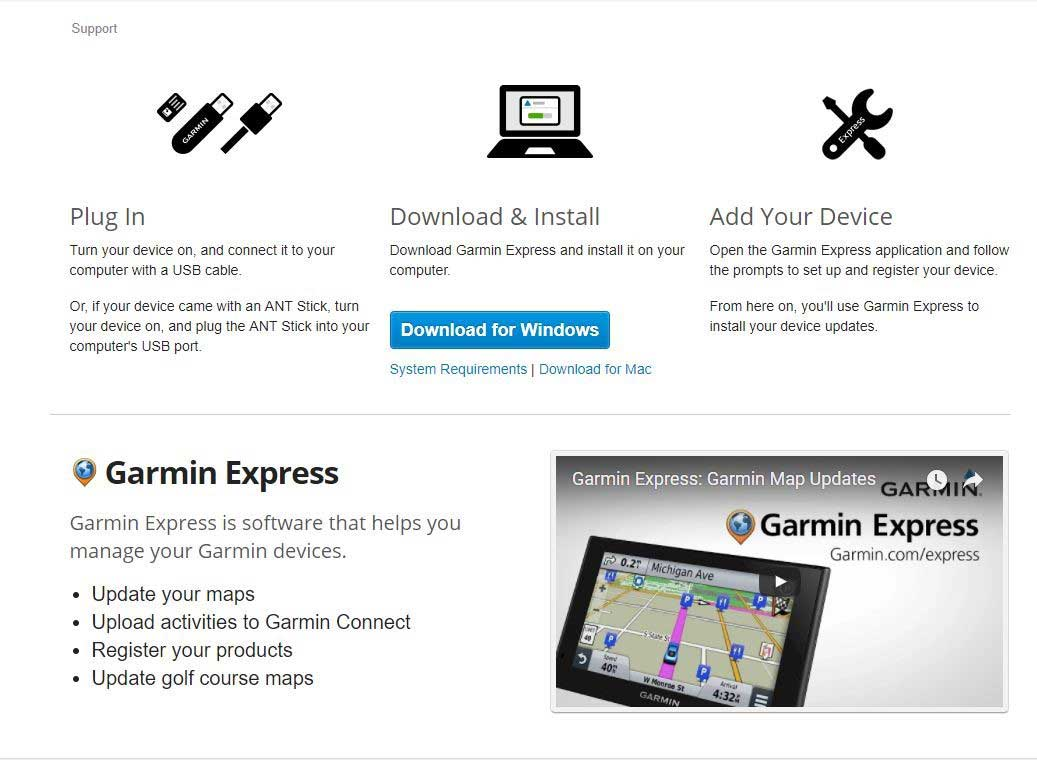 How to update any Garmin Device – Garmin Express - Johnny Appleseed