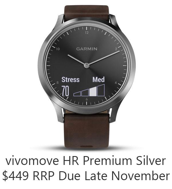 vivomove hr premium silver