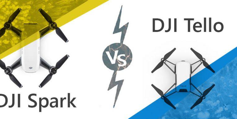 DJI-Tello-vs-DJI-Spark