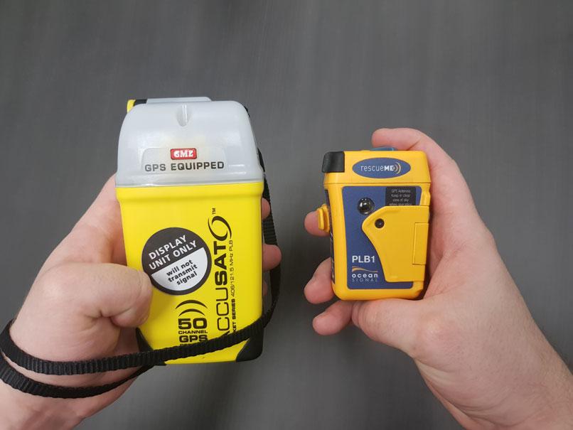 GME MT410G vs RescueMe PLB1