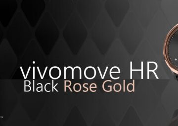 vivomove hr rose gold