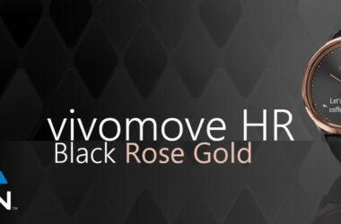 vivomove hr rose gold
