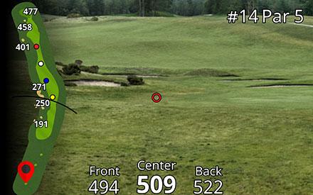 Garmin Approach Z80 (Hole View)