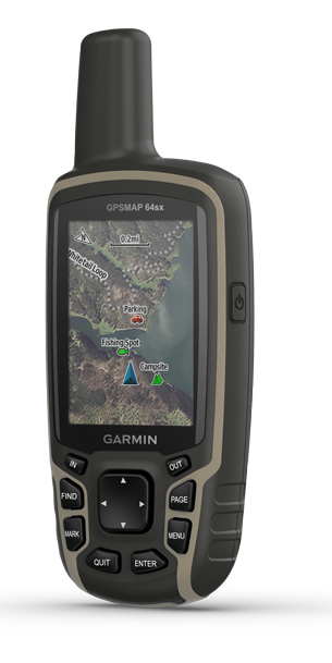 GPSMAP 64SX Satellite Imagery