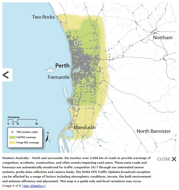 Perth Suna Data