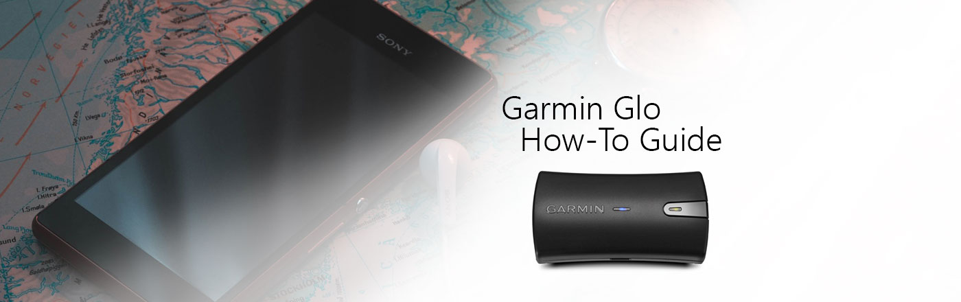 How to use and setup the Garmin Glo - Portable Bluetooth GPS
