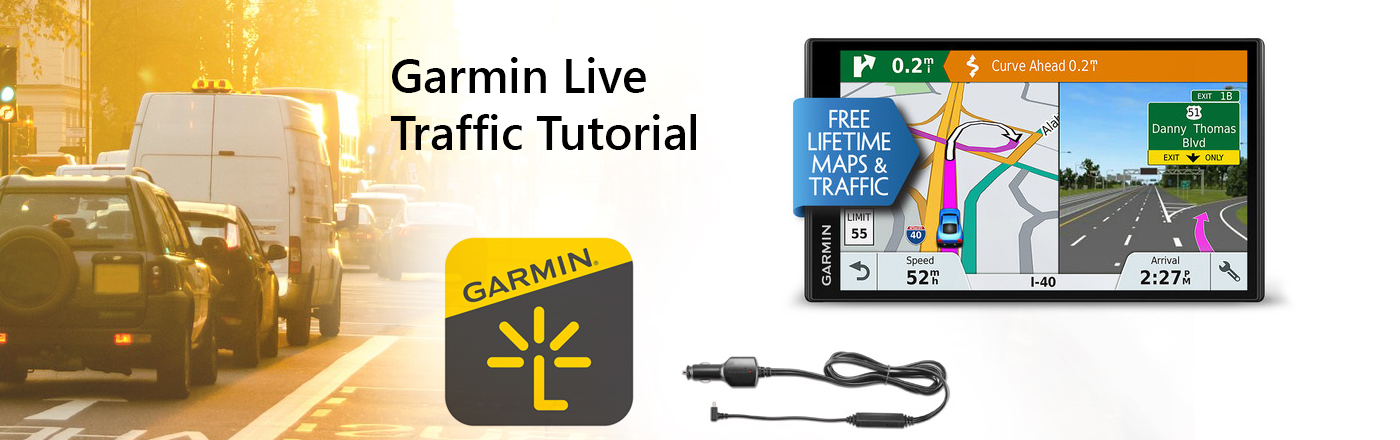 How Live Traffic works with Garmin's Vehicle GPS in Australia
