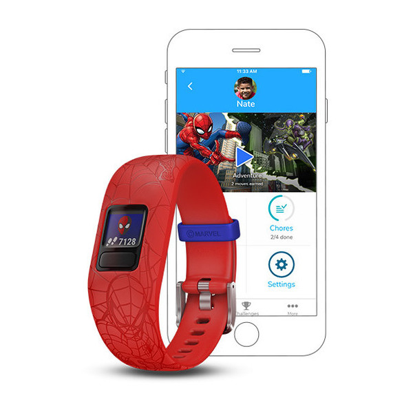 vvivofit jr 2 Spiderman Red Band