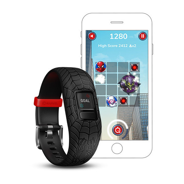 vivofit jr 2 Spiderman Black Band