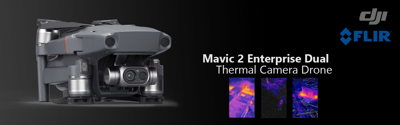 DJI Mavic 2 Enterprise Dual – Best Value Thermal Camera Drone
