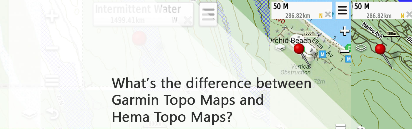 Garmin Australia Map 2020.What S The Difference Between Garmin Topo Maps And Hema Topo
