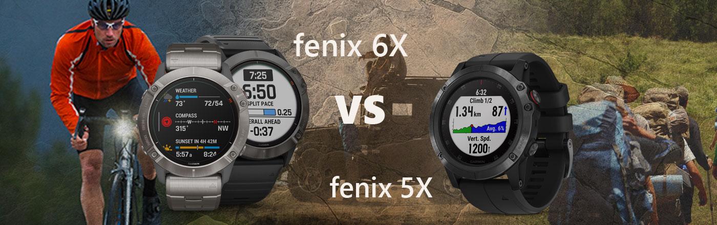 fenix 6x vs fenix 5x