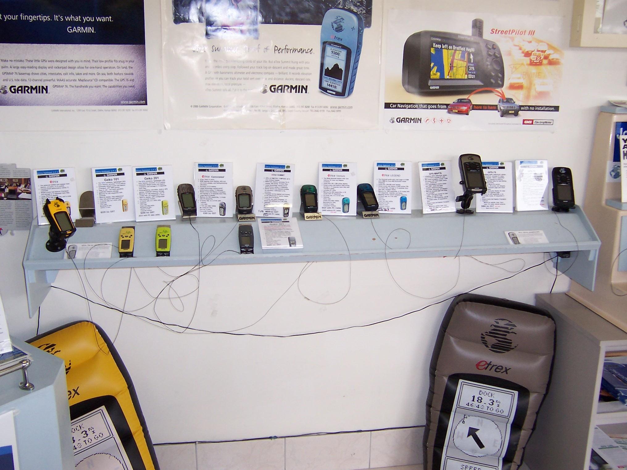 Early Garmin Handheld GPS