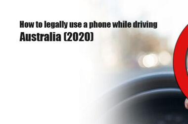 Australian Phone Use Laws 2020
