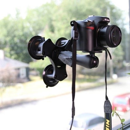 DSLR Triple Suction Mount