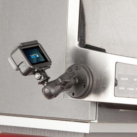 Screw Mount GoPro Kitchen