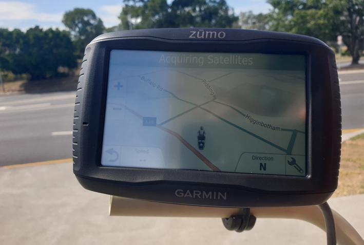 Zumo 595 Direct Sunlight