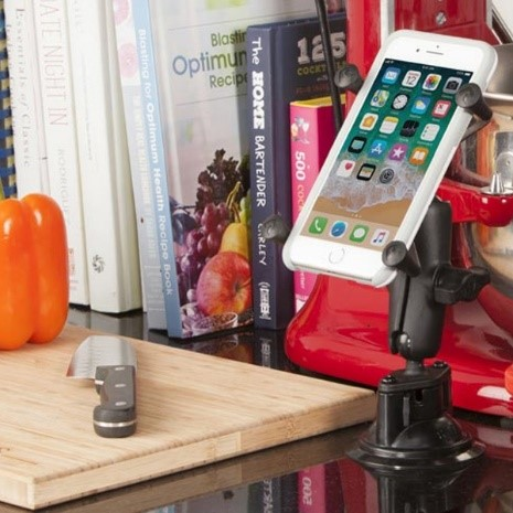 iPhone Suction Mount Kitchen