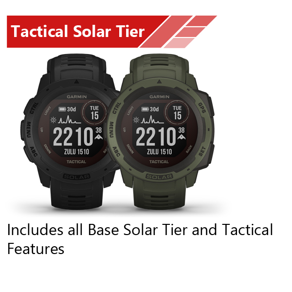Instinct Tactical Solar Tier